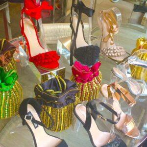 Zapatos de señora para fiestas en Marbella