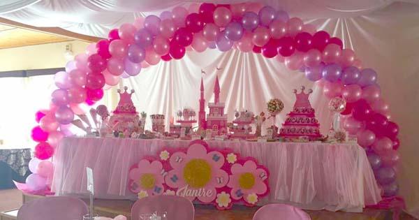 Decoración con Globos para Salones de Celebraciones