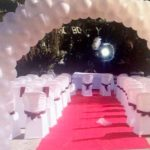 Decoración con globos en Arcos para bodas