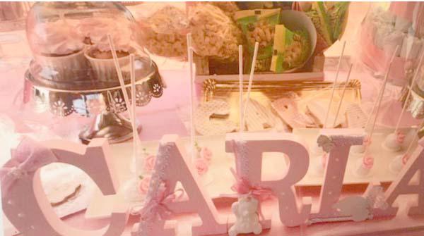 Decoración para Cumpleaños con Nombre
