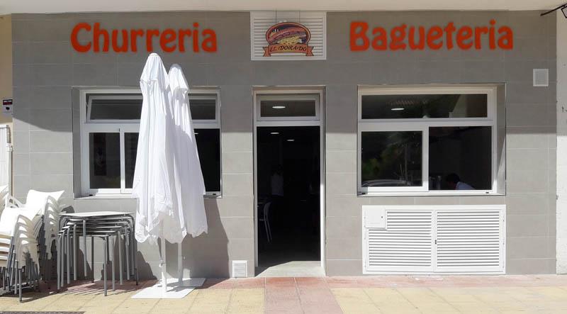 Fachada Churrería EL DORADO