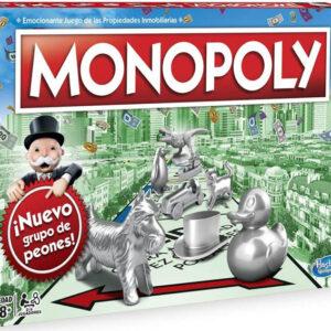 Monopoly Clásico Juegos de Mesa