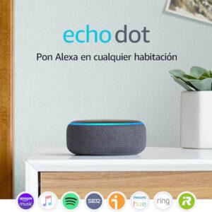 Echo Dot Altavoz inteligente con Alexa