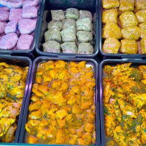 Comida marroquí para llevar
