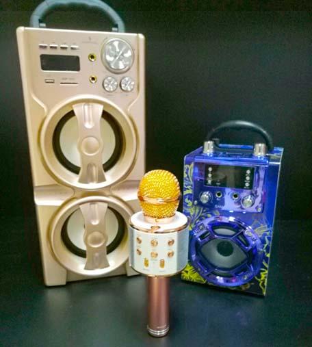 Altavoces y Micrófonos bluetooth