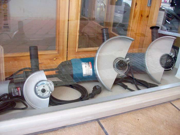 Amoladoras y accesorios para construcción y bricolaje