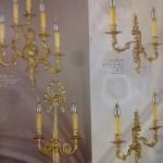 Apliques de bronce