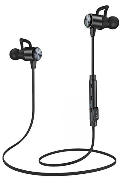 Auriculares Bluetooth ATGOIN Cascos Bluetooth magnéticos y deportivos