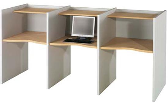Cabinas para ordenador muebles de oficina - Muebles de ordenador ...