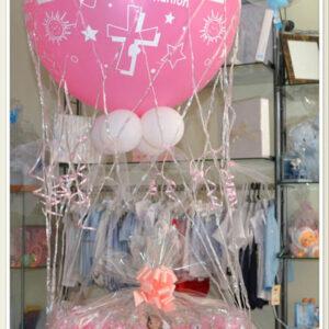 Canasta con globo aerostático en Fuengirola