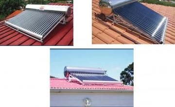 Captador solar de vacío ideal para ACS y Calentamiento de piscina