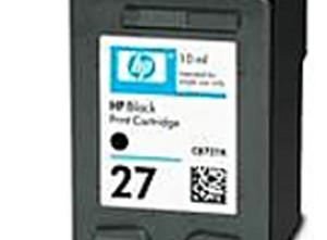 Cartucho de Tinta compatible HP nº 27. Material de oficina