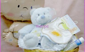 Cestas para bebés con globos