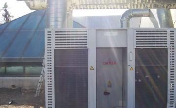 Climatización de centro recreativo. Energías renovables