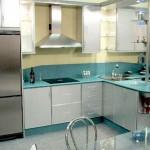 Cocina Aluminio Verde Estepona