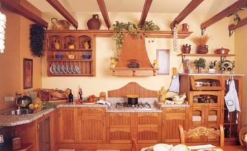 Cocina Rústica, muebles de cocina Estepona