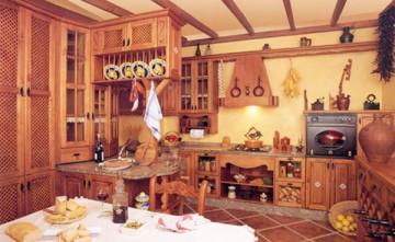 Cocina Rústica con Alacena Estepona