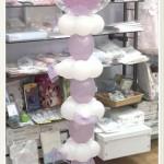 Columna de globos para comunión Fuengirola