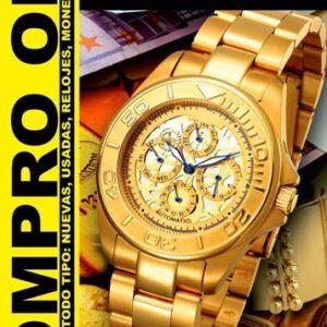 Compra Venta Empeño Oro Plata Broches Antigüedades Monedas Relojes