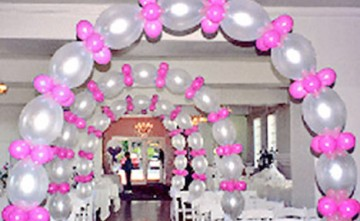 Decoración con globos - Arcos