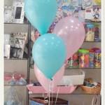 Decoración con globos columna 15 años Fuengirola
