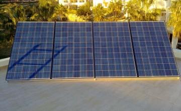 Energía Solar. Fotovoltáica Aislada 4 paneles