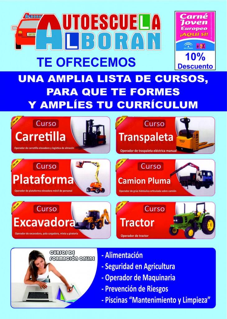 Cursos y Carnet de conducir Autoescuela Alborán