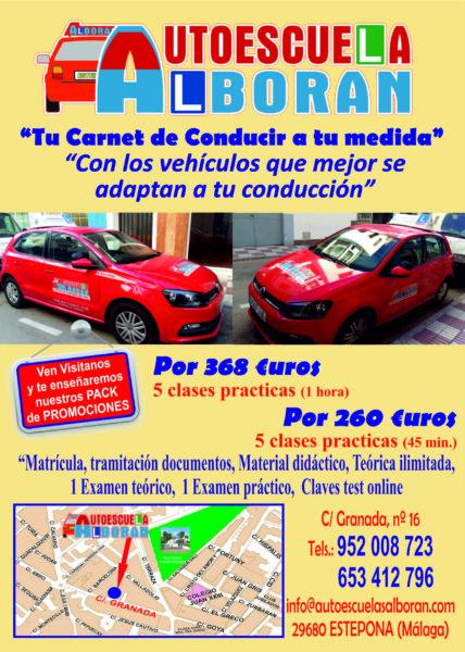Autoescuela en Estepona Centro de Formación Vial