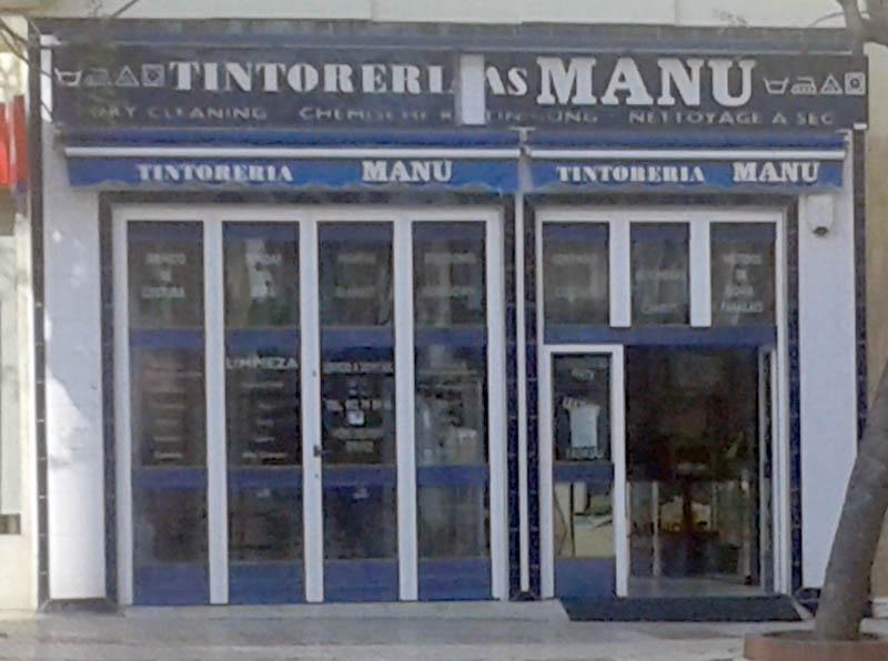 Tintorería Manú Fachada Avd. Andalucía