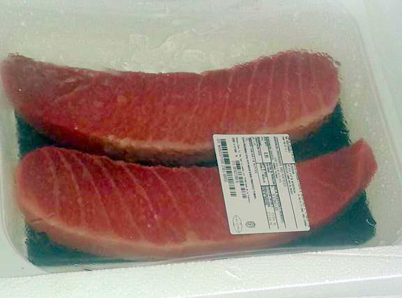 Filetes de Atún Rojo Congelados