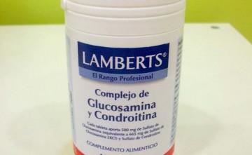 Glucosamina y Condroitina. (LAMBERTS) Regeneración articular