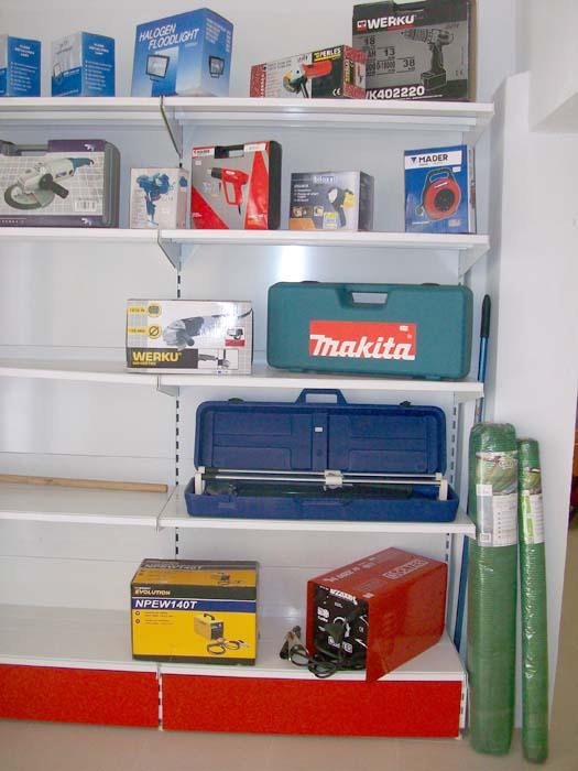 Herramientas y accesorios para la construcción y bricolaje
