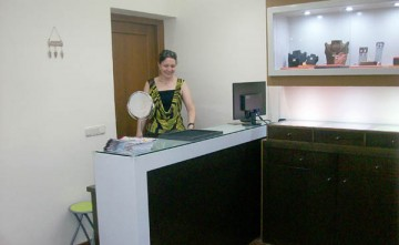 Interior comercio El Taller de JC, Estepona