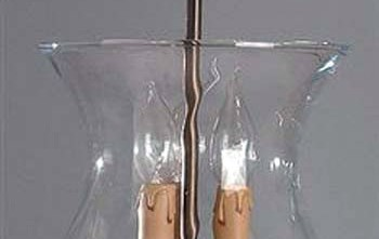 Lámpara colgante cristal óptico