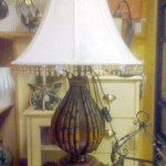 Lámpara de sobremesa salón