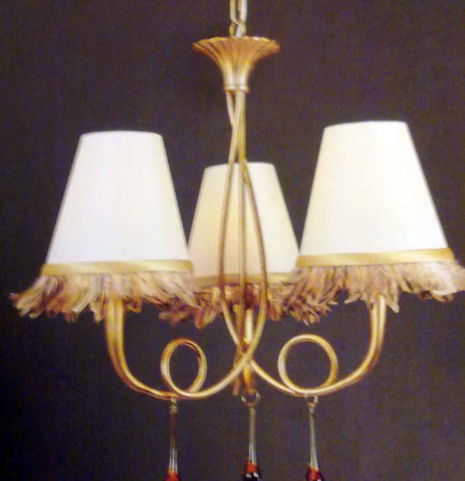 Lámpara pan de oro