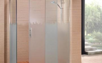 Mampara de ducha. Carpintería de Aluminio