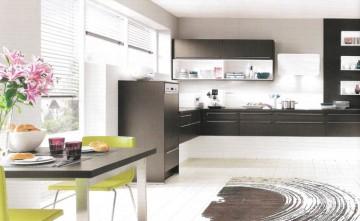 Muebles de Cocina diseño terra negro