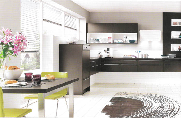 Muebles de cocina dise o terra negro for Muebles de cocina negro