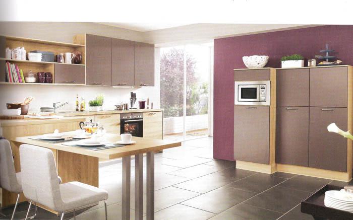 Muebles de cocina diseño roble de Virginia