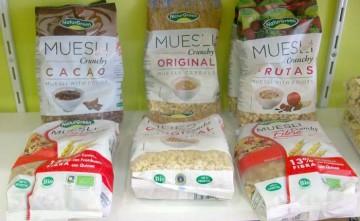Muesli y cereales biológicos en Estepona