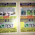 Cursos de Operador de Carretilla y Excavadora
