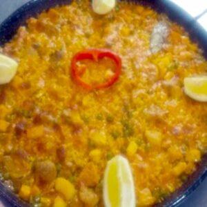 Paella Mixta y Arroz Caldoso con Bogavantes en Marbella