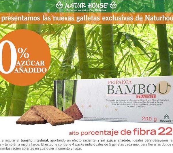 Galletas fibra Peipakoa Bambú Estepona