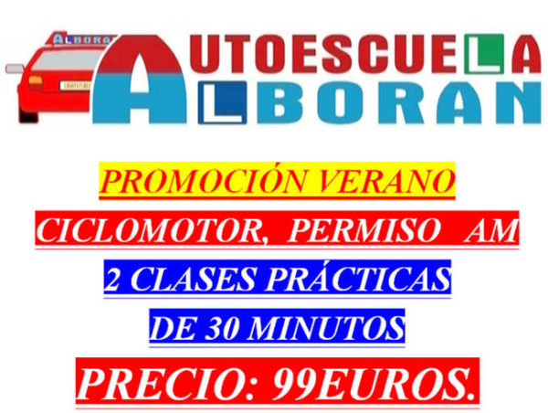 AM Permiso de Conducir Moto Autoescuela en Estepona