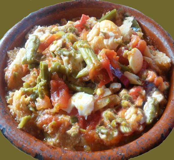 Comida típica de Estepona Sopa Campera