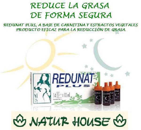 Reductor de grasa REDUNAT PLUS Estepona
