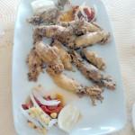 Ración de calamares a la plancha