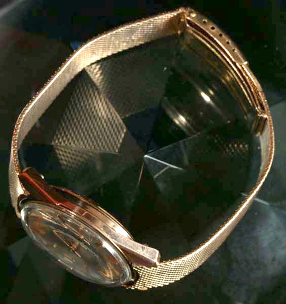 Reloj de oro Estepona