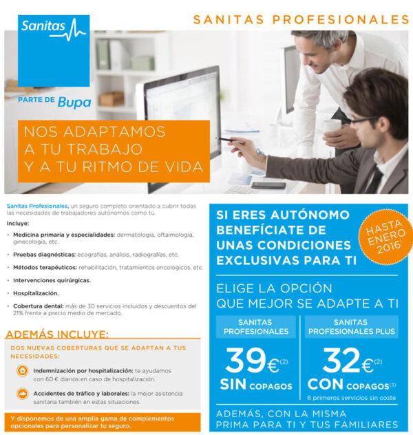 SANITAS Profesionales en seguros médicos en Estepona